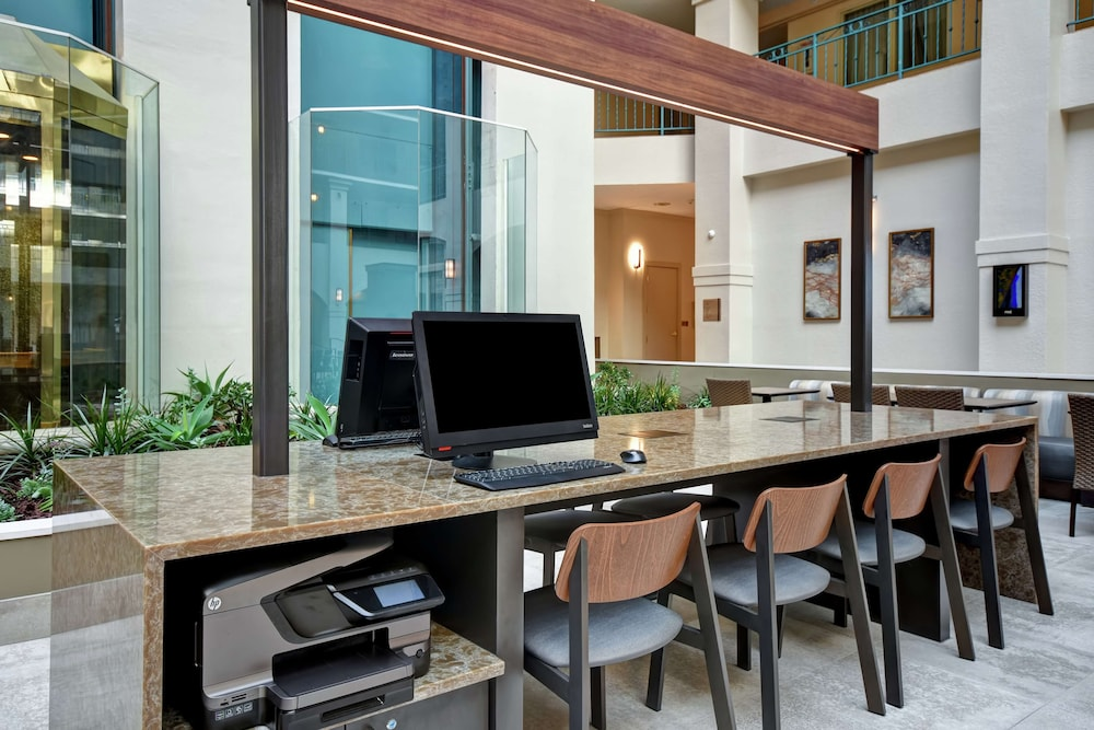 Business Center, Embassy Suites Hotel Milpitas-Silicon Valley