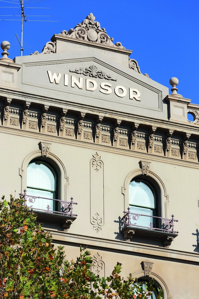 Exterior detail, The Hotel Windsor