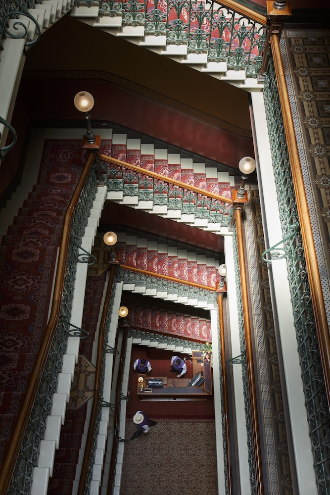 Staircase, The Hotel Windsor