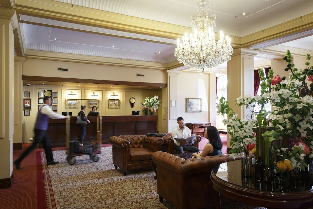 Reception, The Hotel Windsor