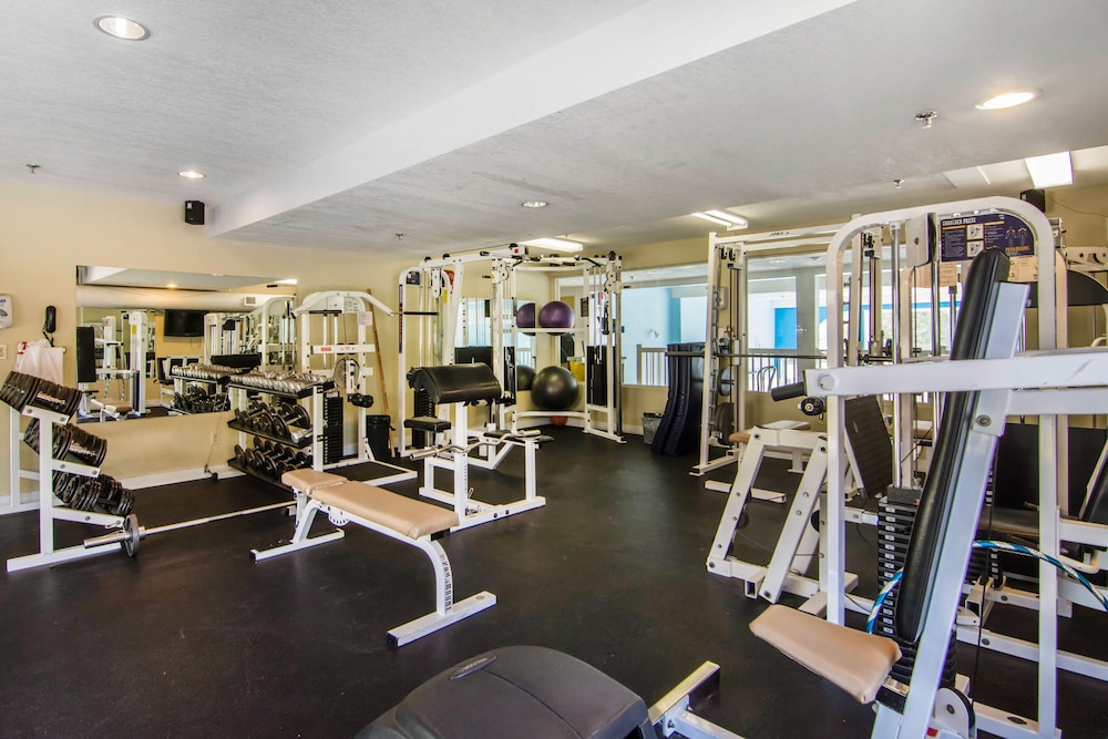 Gym, Quality Resort Chateau Canmore