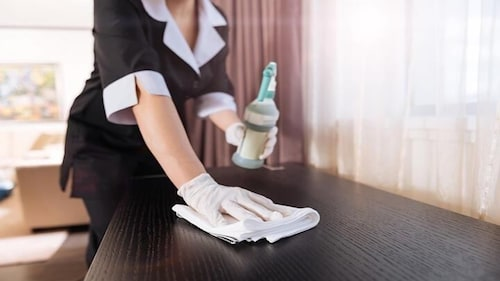 Cleanliness standards, Quality Inn & Suites