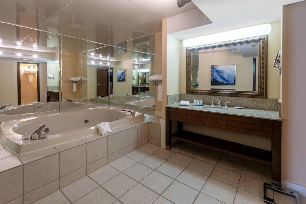 Bathroom, Wyndham Riverfront Little Rock