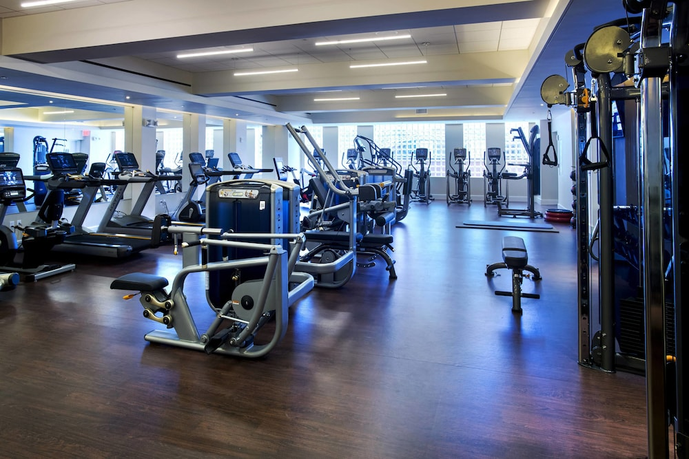 Fitness Facility, New York Marriott Downtown