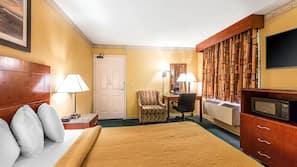 Premium bedding, down comforters, Tempur-Pedic beds, iron/ironing board