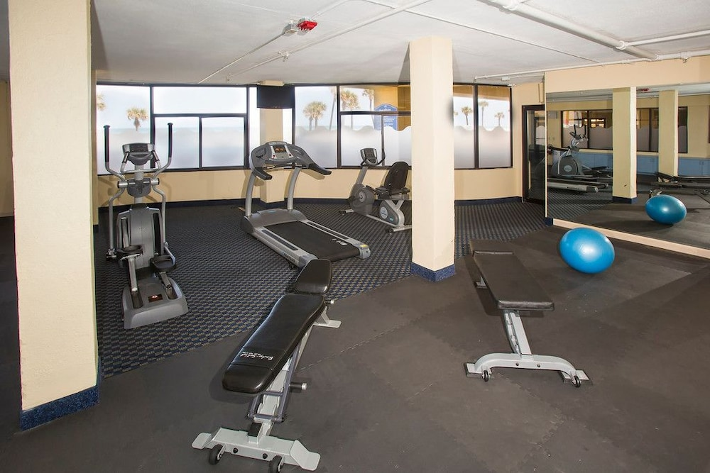 Gym, Ocean Breeze Club Hotel