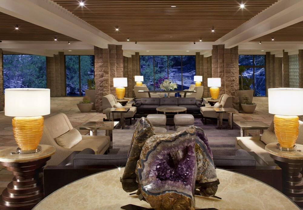 Lobby, Loews Ventana Canyon Resort