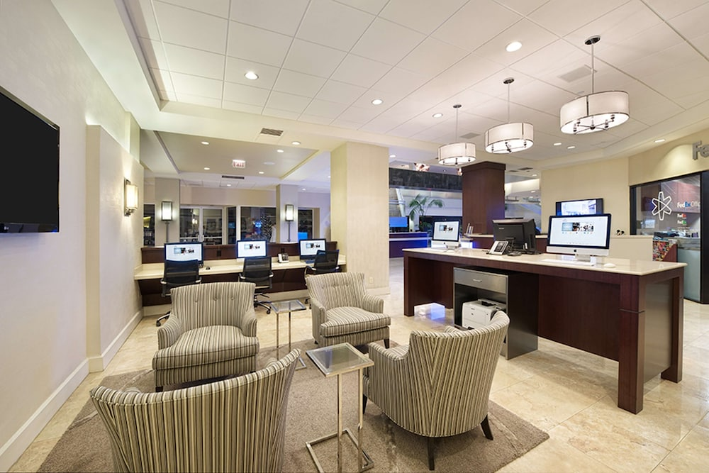 Business Center, Hilton Orlando Lake Buena Vista - Disney Springs® Area