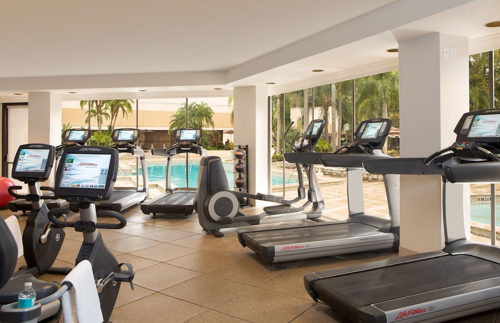 Fitness Facility, Hilton Orlando Lake Buena Vista - Disney Springs® Area