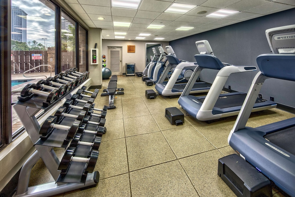 Fitness Facility, DoubleTree by Hilton Hotel Memphis