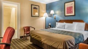 In-room safe, desk, laptop workspace, rollaway beds