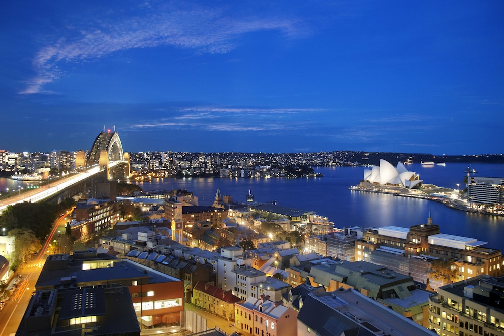 View from Room, Shangri-La Sydney