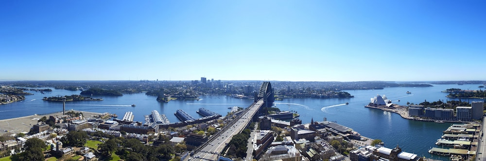 View from Property, Shangri-La Hotel, Sydney