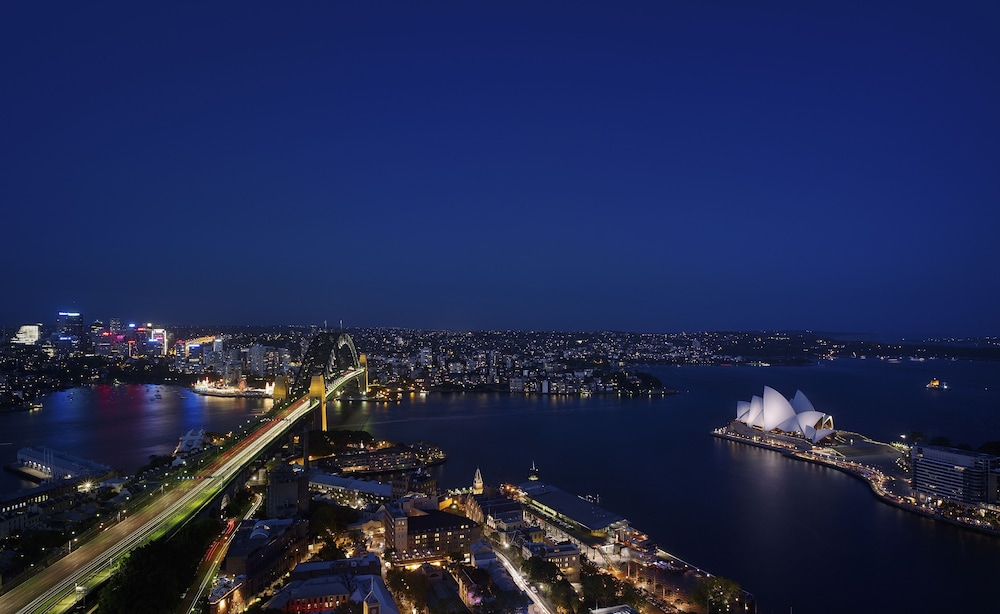 View from Room, Shangri-La Hotel, Sydney