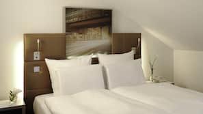 Premium bedding, minibar, in-room safe, desk
