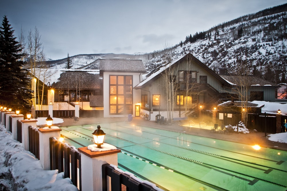Outdoor Pool, Vail Racquet Club Mountain Resort