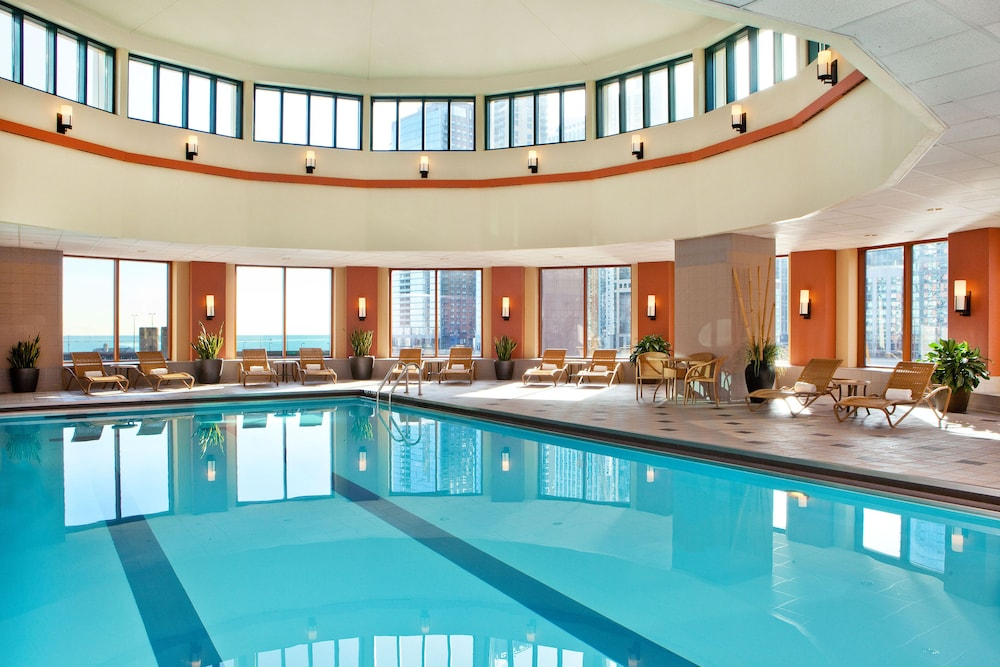 Indoor Pool, Sheraton Grand Chicago