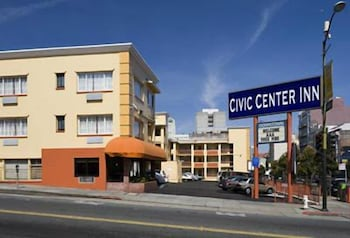 Exterior, Civic Center Inn