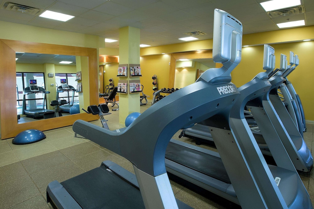 Fitness Facility, Embassy Suites Hotel Kansas City - International Airport