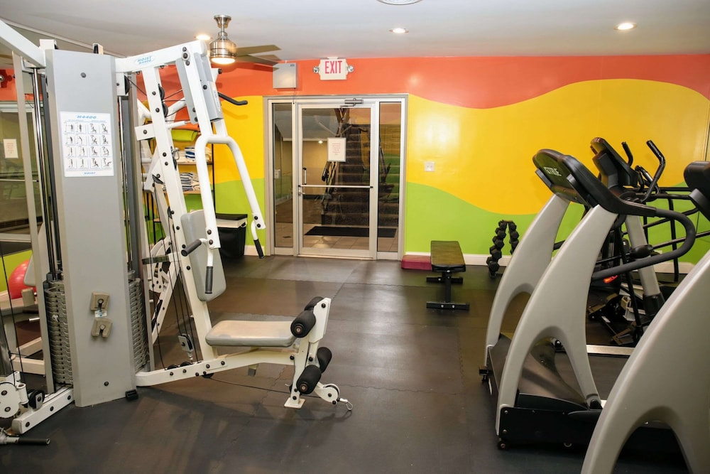 Fitness Facility, Quality Inn O'Hare Airport