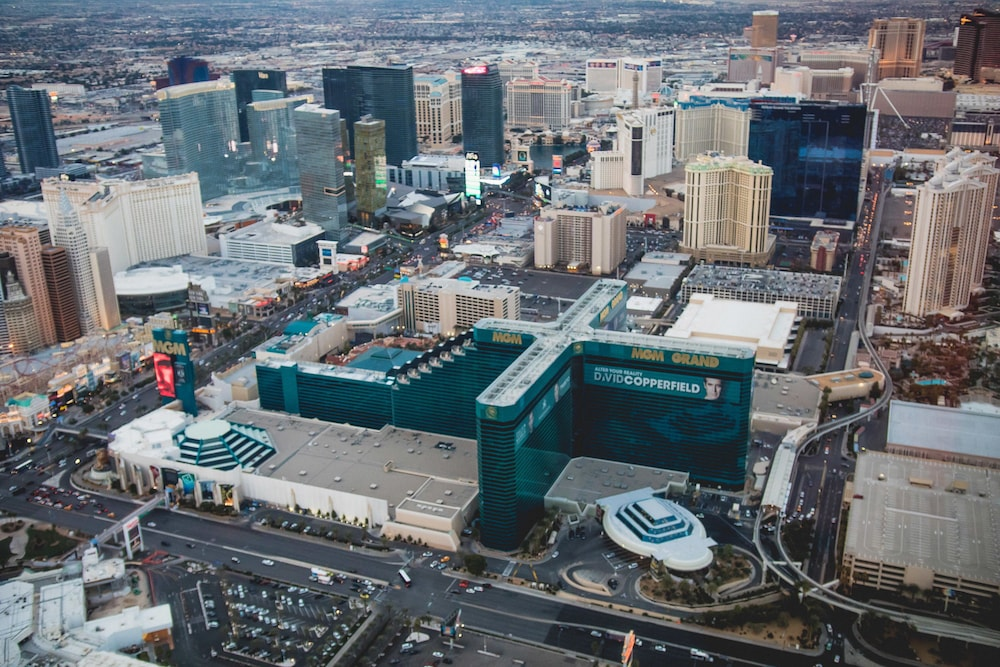 Aerial View, MGM Grand Hotel & Casino