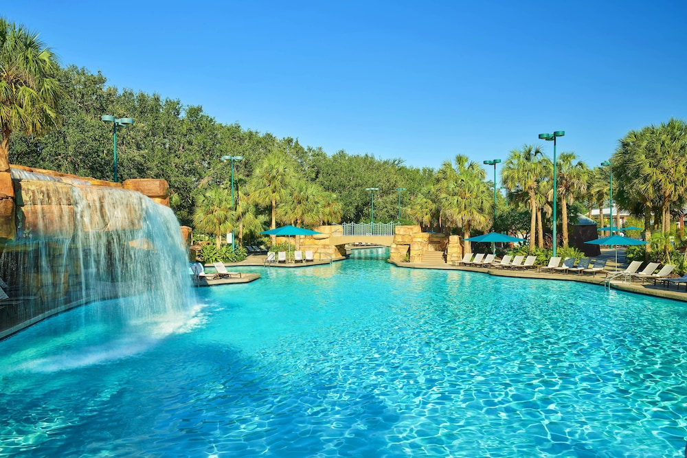 Pool Waterfall, Walt Disney World Dolphin