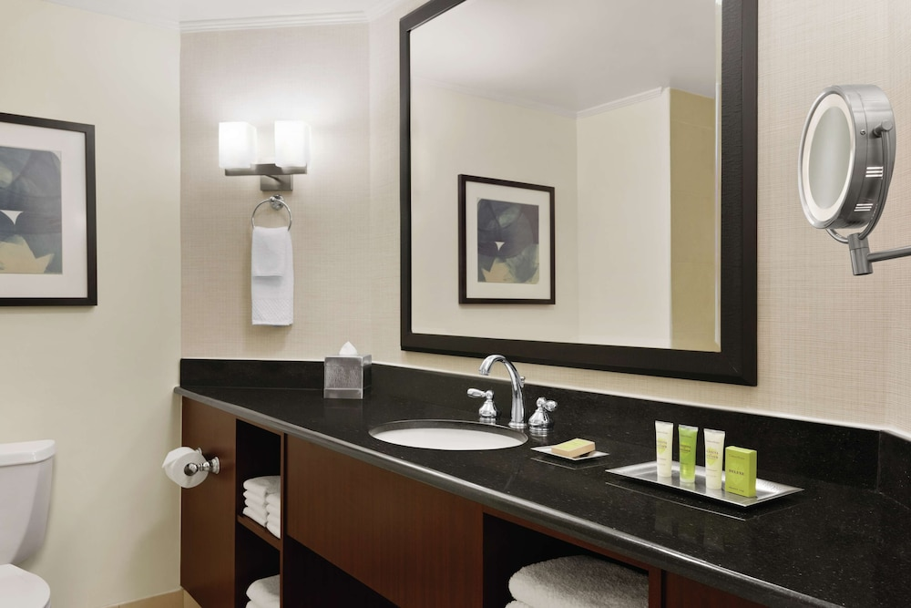 Bathroom, Hilton Charlotte Executive Park