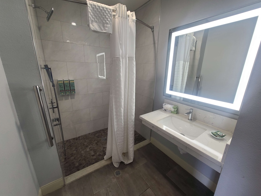 Accessible bathroom, Best Western Orange Plaza