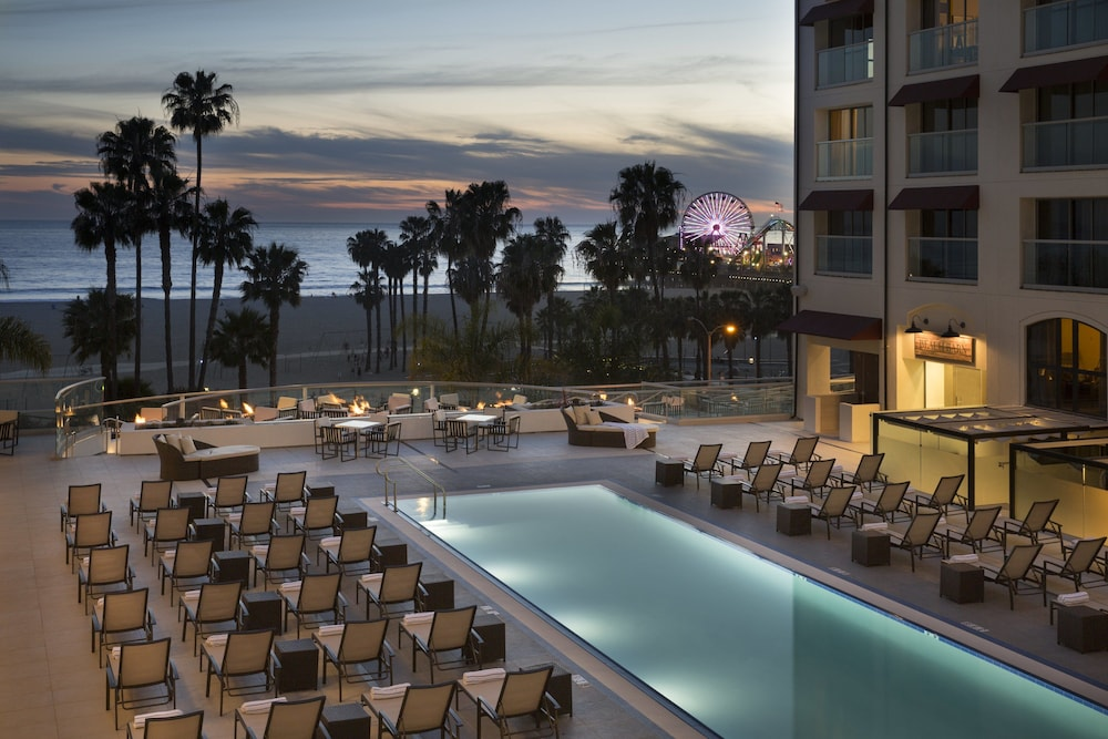 Outdoor Pool, Loews Santa Monica Beach Hotel