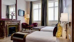 1 Schlafzimmer, hochwertige Bettwaren, Select-Comfort-Betten, Zimmersafe