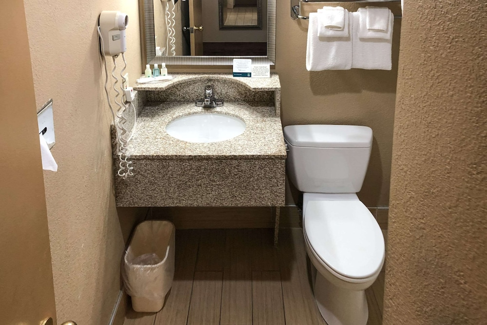 Bathroom, Quality Inn Near Joint Base Andrews-Washington Area