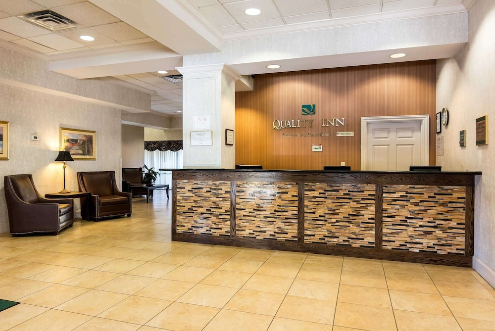 Lobby, Quality Inn Near Joint Base Andrews-Washington Area