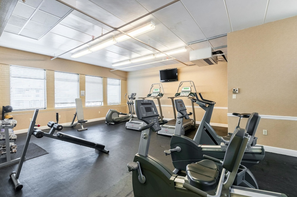 Fitness Facility, Quality Inn Boardwalk