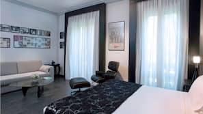 Minibar, in-room safe, desk, blackout curtains
