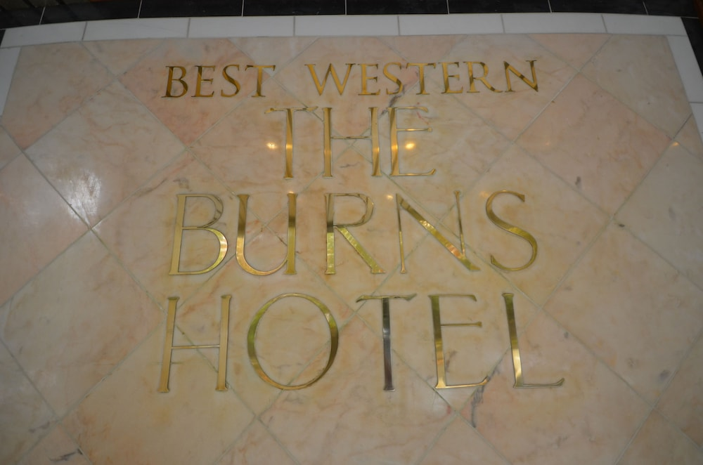 Interior Detail, Best Western Burns Hotel Kensington