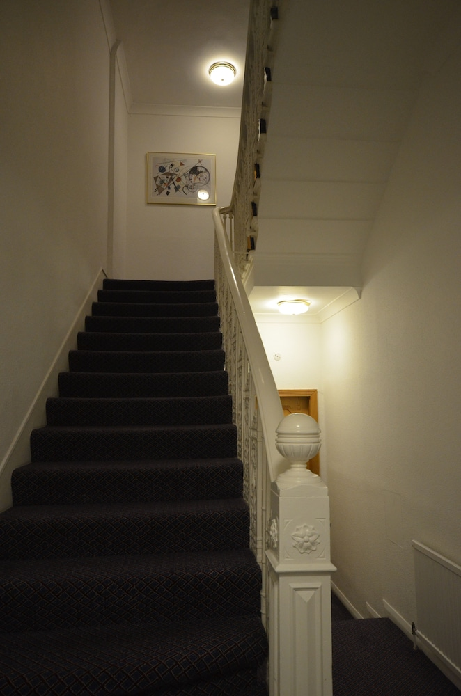 Staircase, Best Western Burns Hotel Kensington