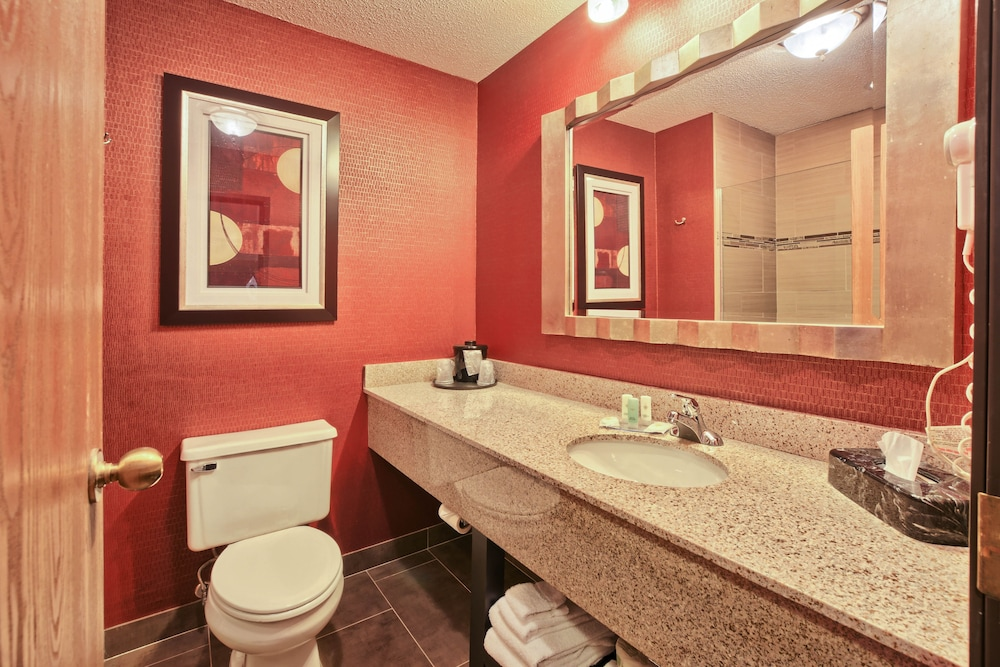 Bathroom, Comfort Inn & Suites and Conference Center