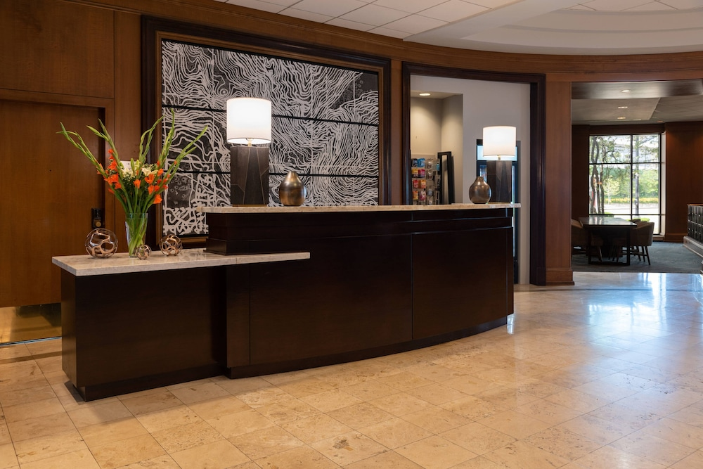 Lobby, Chicago Marriott at Medical District/UIC