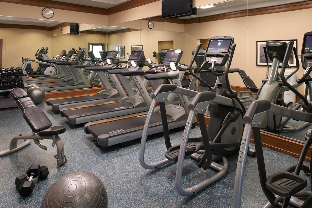 Fitness Facility, Chicago Marriott at Medical District/UIC