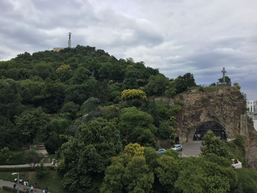 View from Room, Danubius Hotel Gellert