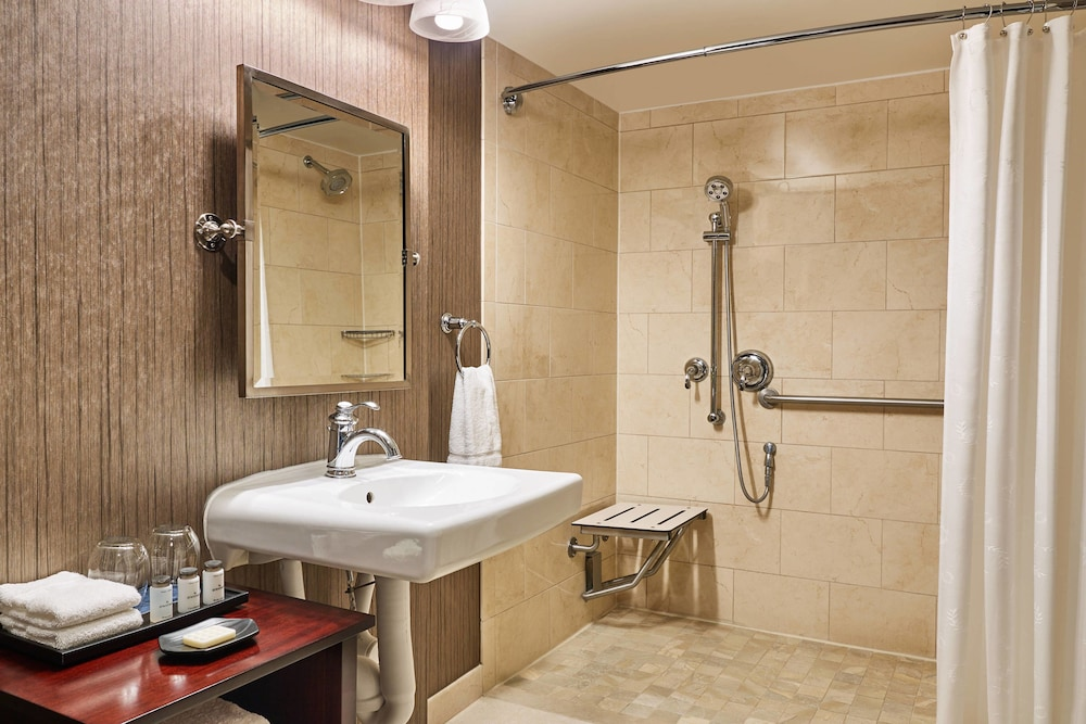 Bathroom, Sheraton North Houston at George Bush Intercontinental