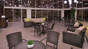Indoor pool, free cabanas