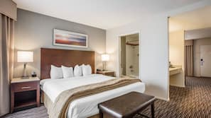 Pillow-top beds, in-room safe, desk, laptop workspace
