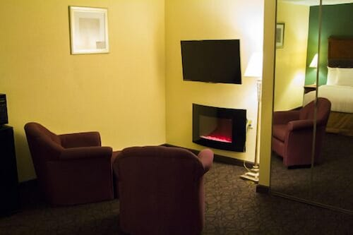 Living Area, The View Inn & Suites