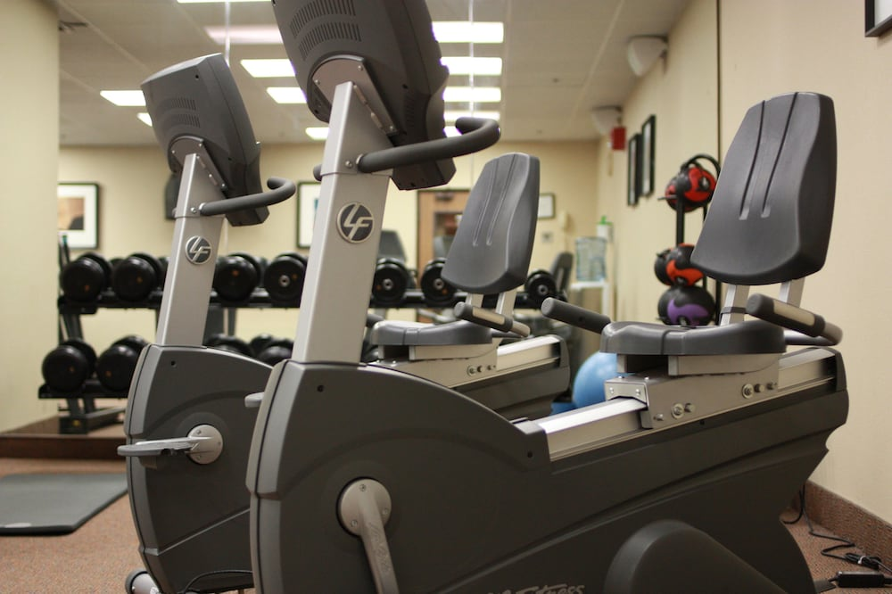 Fitness Facility, DoubleTree by Hilton Boston - Milford