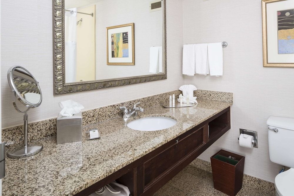 Bathroom, DoubleTree by Hilton Boston - Milford