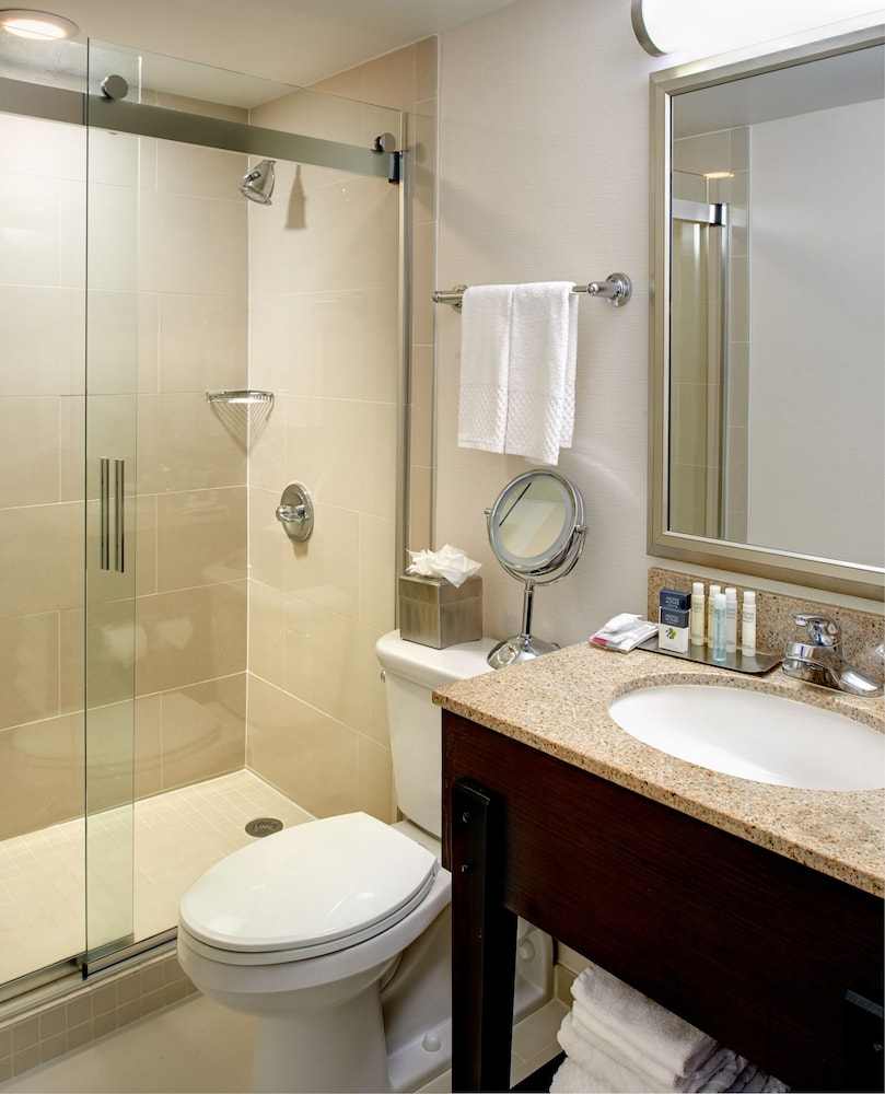 Bathroom, DoubleTree by Hilton Detroit - Dearborn