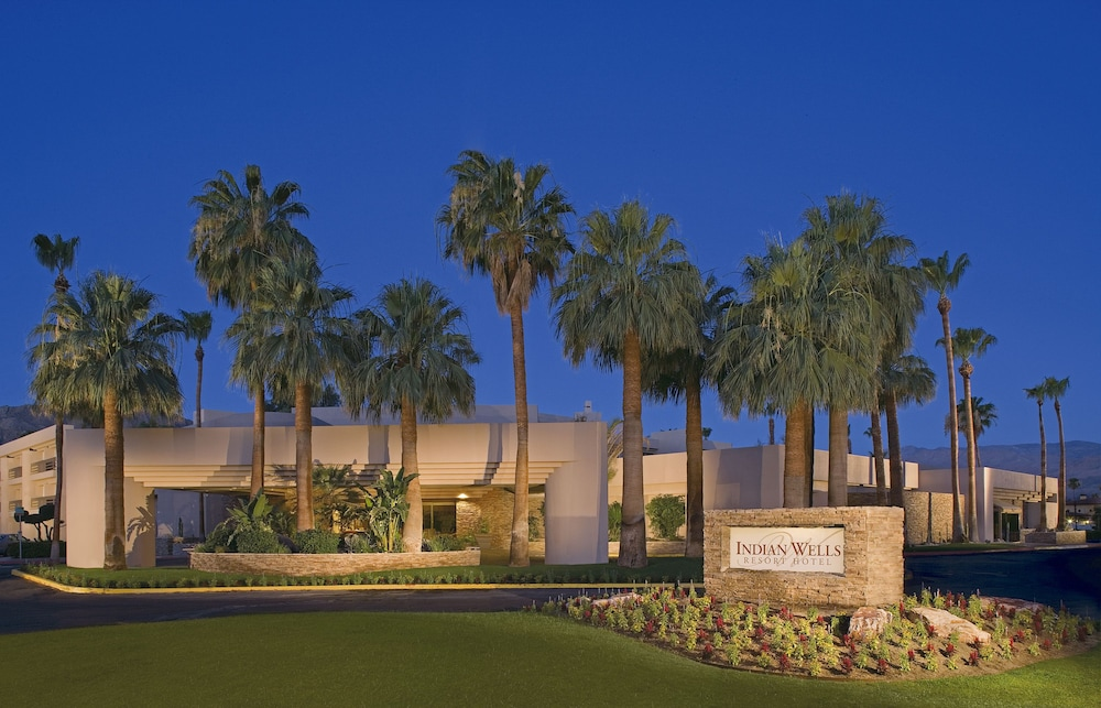 Front of Property - Evening/Night, Indian Wells Resort Hotel