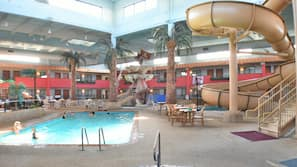 3 indoor pools
