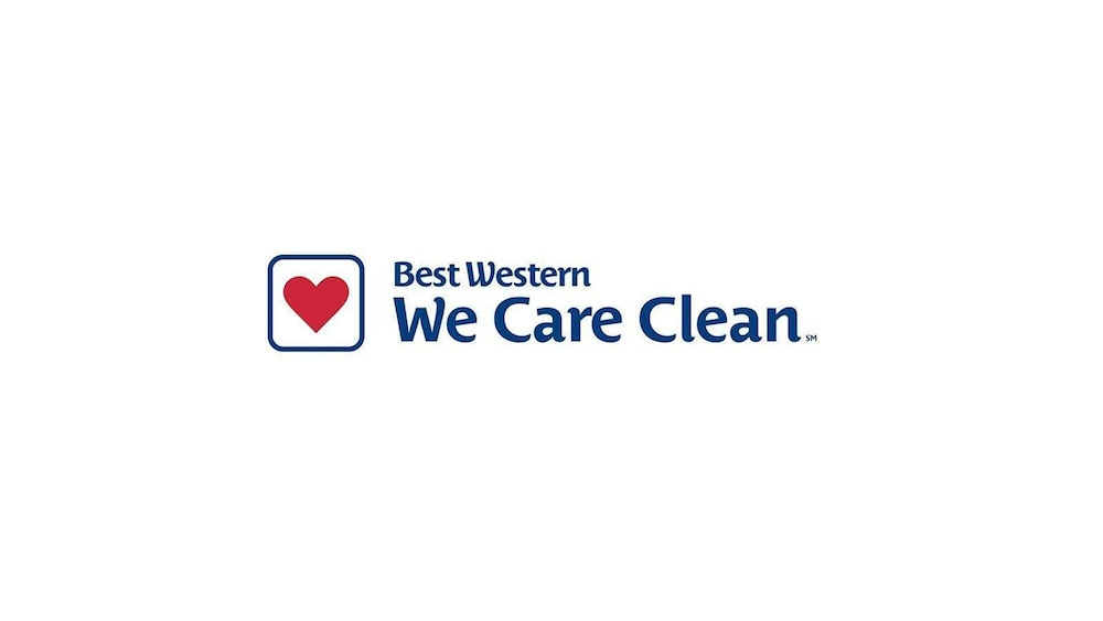 Cleanliness badge, Best Western Executive Inn